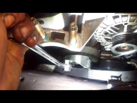 Где ремень генератора у Lincoln Mark VIII