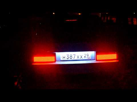 Задние светодиодные фонари ваз 2108 самодельные