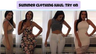 Summer Clothing Haul 2015 | Try On
