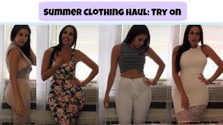 getlinkyoutube.com-Summer Clothing Haul 2015 | Try On