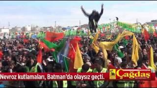 21 Mart Nevroz kutlamaları, Batman'da olaysız geçti