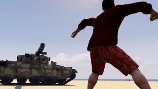 getlinkyoutube.com-#320【GTA5】戦車を約4時間殴り続けたらどうなるのか!!(君の本当の力を見せてくれ ....ナックルダスター!!)