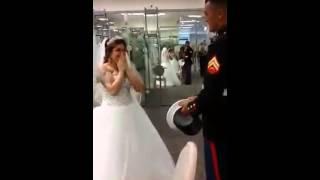 getlinkyoutube.com-Marine surprises girlfriend with proposal