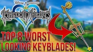 Kingdom Hearts - Top 8 Worst Looking Keyblades