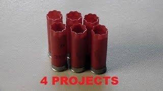 getlinkyoutube.com-Four things you can build with empty shotgun shells