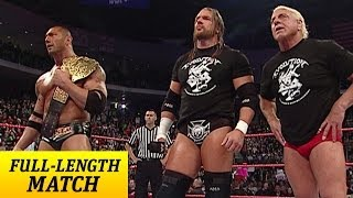 getlinkyoutube.com-FULL-LENGTH MATCH - Raw - Evolution Reunion