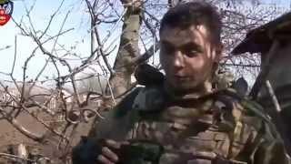 getlinkyoutube.com-Бои под Мариуполем  В Широкино Армия ДНР отбивает штурмы нацгвардии