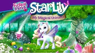getlinkyoutube.com-*NEW* StarLily My Magical Unicorn Pet App FurReal Friends Interactive Toy Game Playing Part 2