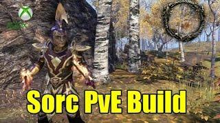 getlinkyoutube.com-ESO Xbox One Sorcerer PvE AoE Build