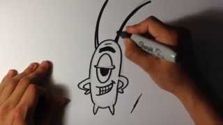 getlinkyoutube.com-How to Draw Plankton from Spongebob - Easy Things To Draw