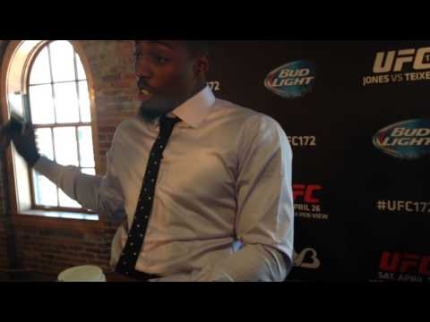 Phil Davis at UFC 172 Ultimate Media Day - 2