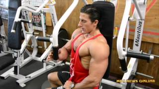 getlinkyoutube.com-IFBB Men's Physique Pro Sadik Hadzovic Olympia Training Video