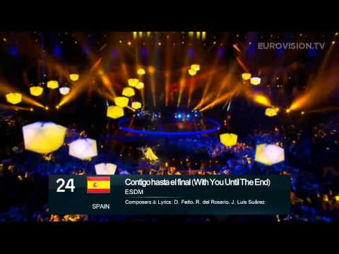 [HD] Eurovision Song Contest 2013 Malmö: My top 39 (After the live show)