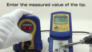HAKKO FX-888D; how to use