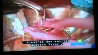 getlinkyoutube.com-Plaza Sesamo- Lavarnos las manos