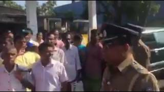 A tense situation in Hambantota