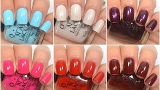 getlinkyoutube.com-OPI - Breakfast At Tiffany's (Winter/Holiday 2016) | Swatch and Review