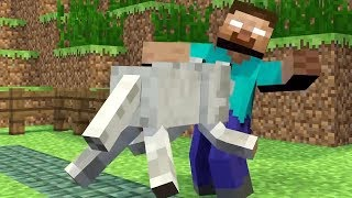 getlinkyoutube.com-Monster School: Girls vs Boys Brave - Weapons - Farming  Challenge - Minecraft Animation
