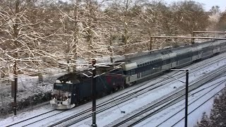 getlinkyoutube.com-Tog i sneen ved Roskilde