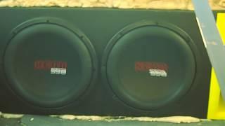 "getlinkyoutube.com-2 12"" XCON Subwoofers Flexing - Ulrisa's 1st SSA Car Audio Demo w/ His Top 5 LOUD Bass Songs"