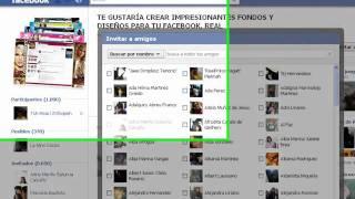getlinkyoutube.com-como seleccionar a todos tus amigos en facebook para un evento