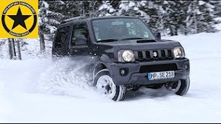 getlinkyoutube.com-Suzuki Jimny 2014 Snow Action!