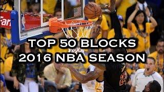 Top 50 Blocks: 2016 NBA Season