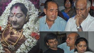 getlinkyoutube.com-Actress | Manjula Vijayakumar | Death Ceremony | Photos