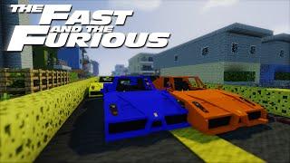 getlinkyoutube.com-Minecraft: Fast and the Furious 7