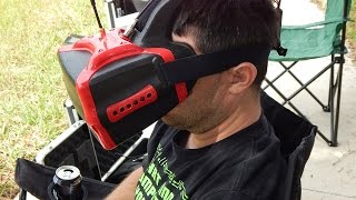 getlinkyoutube.com-Headplay HD Goggles Demo And Review