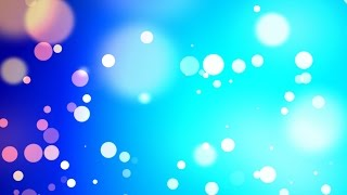 getlinkyoutube.com-Blue particles wind bokeh - HD animated background #49
