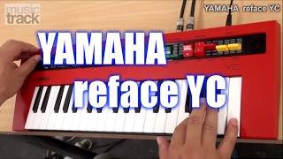 YAMAHA reface YC Demo & Review [English Captions]