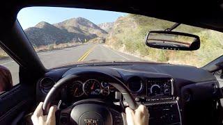 getlinkyoutube.com-2015 Nissan GT-R Premium - WR TV POV Canyon Drive