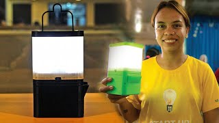 getlinkyoutube.com-Filipinos invented a Lamp that runs in Salt and Water.