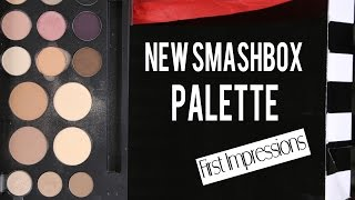 getlinkyoutube.com-New SMASHBOX Palette | First Impressions