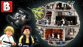getlinkyoutube.com-Lego Star Wars Death Star UCS Set 75159   Unbox Build Time Lapse Review