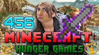 Minecraft: Hunger Games w/Mitch! Game 456 - ALL HYPE STONE SWORD ENCHANTED!