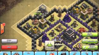 getlinkyoutube.com-Clash of Clans - The BEST Th9 War Base