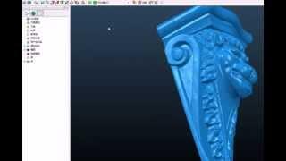 getlinkyoutube.com-3D Scanner for CNC woodworking Router Machine Scanning Furnitures