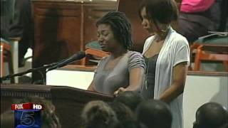 getlinkyoutube.com-[US] Funeral for Wynetta and Jaylin Wright, Mother and Daughter Murdered by officer