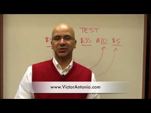Sales Training Moment #6 - Pricing Influence by Sales Trainer Victor Antonio