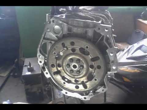 Сборка двигателя Ниссан MR20DE