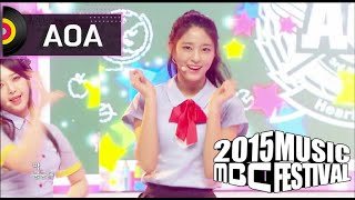 getlinkyoutube.com-[2015 MBC Music festival] 2015 MBC 가요대제전 - AOA - Heart Attack, 에이오에이 - 심쿵해 20151231