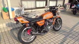 getlinkyoutube.com-kawasaki カワサキ マッハ SS750 H2ゴールド壱代目 その2
