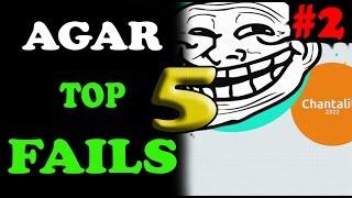 getlinkyoutube.com-Agar.io // TOP 5 FAILS week 2