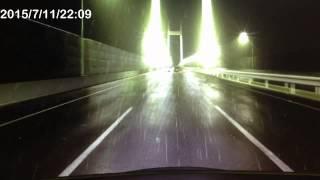【GT6 ドラレコ】雨の高速で飛ばすDQN軽がスピン!!