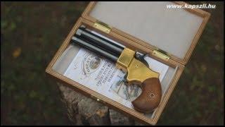 getlinkyoutube.com-Shooting a double barrel Great Gun percussion derringer