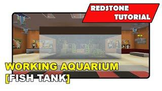 "Working Aquarium [Fish Tank] ""Redstone Tutorial"" (Minecraft Xbox TU19/PlayStation CU7/PS Vita)"