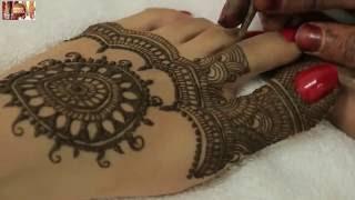 getlinkyoutube.com-Easy Beautiful Traditional Heena Mehandi Design For Feet:Learn Wedding Mehendi By MehndiArtistica
