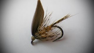 March Brown wet fly variant
